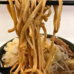 ハイパーファットン - 【2017.10.1】村上朝日製麺の中太麺。