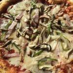 粉食や しろ - ミックスピザ  1200円