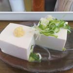 みなと食堂 - 豆腐