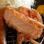 とんかつ玉藤 千歳店 - 熟成ロースかつ定食 140g