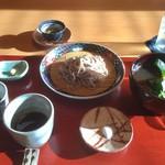 ろあん松田 - 粗挽き蕎麦 鴨汁