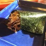 ろあん松田 - 蕎麦寿司