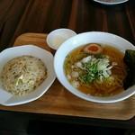 74500147 - 選べる麺と半炒飯セット 980円+税