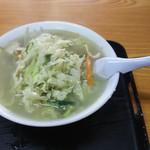 中華料理 真生軒 - 料理写真:タンメン