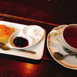 黒猫舎 - ネコーンと紅茶♪