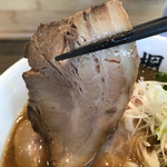 楓 - 【2017.10.2】ホロホロとした仕上がりの豚バラチャーシュー