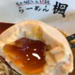 楓 - 【2017.10.2】味染み良い絶品味玉。