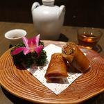 虞妃 - 秋刀魚の春巻き