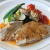 函館大沼プリンスホテル - 料理写真:豚と海の幸のソテー