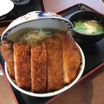 たけだ - ジャンボソースカツ丼(税込1930円)