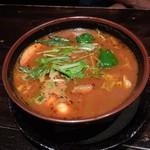 74505411 - 野菜カレー(スープ大盛り)