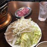 北一倶楽部 - 野菜もたっぷり