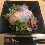74506087 - フレッシュお豆腐サラダ(和みセット)