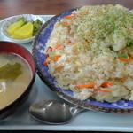 石井食堂 - H29年10月、チャーハン(600円)