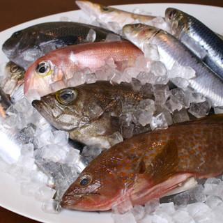 富山県氷見港より直送!自慢の魚介を満喫下さい。