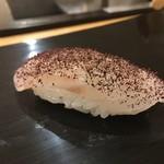 鮨 おくの - 料理写真:名物松川鰈 自家製ゆかり