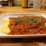 74509275 - ☆卵料理はチーズ&ミートトマトソース(#^.^#)☆