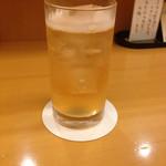 口福料理 なかもと - ドリンク写真:八海山梅酒ソーダ割り