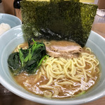武蔵家 - ラーメン(並)