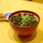 小石川 かとう - げんこつ茶漬け