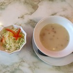 74510961 - サラダ、スープ