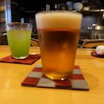 星火 - 生ビール(800円)