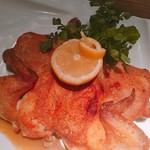 74512814 - 若鶏のクラポディーヌ レモン添え