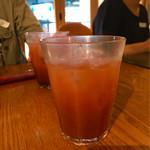 リゾットカフェ東京基地 離 - カシスオレンジを注文