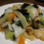 清香園 - 料理写真:海老あんかけ焼きそば