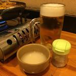 五六島 - マッコリと生ビールで又モッコリと不思議な粉