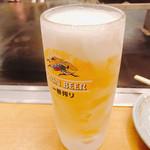 長田本庄軒 三宮センタープラザ店 - ビール