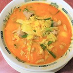 日高屋 - 料理写真:もつ野菜ラーメン(大盛)