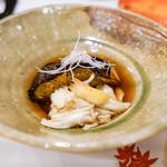 うぶか - 渡り蟹と秋茄子