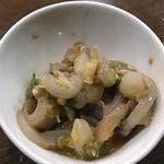 びっくり - 自家製辛い塩辛