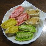 7452394 - 苺ミルク・塩キャラメル・ピスタチオ・柚子cut図!