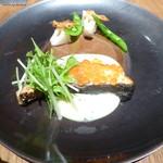 74522671 - 魚料理(鮭、いくら)