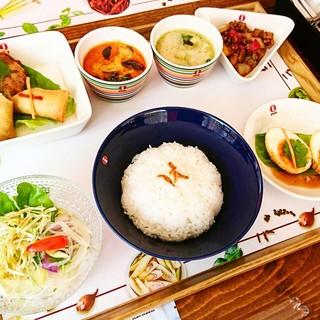 本格タイ料理を満喫出来るランチ