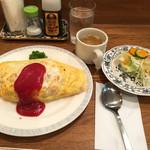みつざわキッチン - 昭和のオムライス  790円