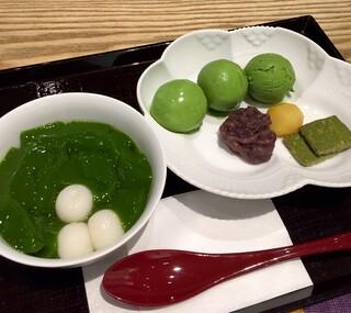 中村藤吉 京都駅店 - 生茶ゼリイ(抹茶)