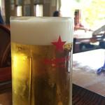 北の茶屋 - 生ビール