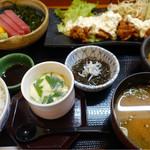 旬菜若王子 - 料理写真:なこじランチ¥1,680-