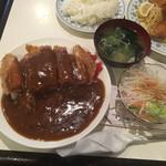 エンドレス - カツカレー980円