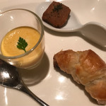 DINING 六区 - 本日のお口取り…3種①