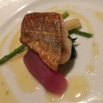 DINING 六区 - 一色産イトヨリのムニエル ゆず胡椒風味のブールブラン