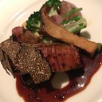 DINING 六区 - 牛フィレ肉のグリエ トリュフのソース