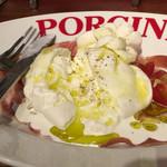 ラッテリア ポルチーニ - ブラッターチーズ