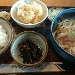 74530971 - うどん定食(税込850円)