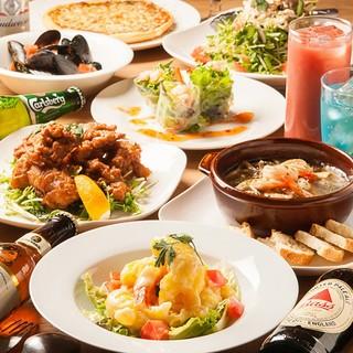 美味しいお酒とお料理をゆっくりお楽しみください