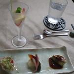 Chuugokuryourikujikuji - お昼のミニコース:前菜四種盛り