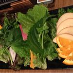 サムギョプサルと野菜 いふう -